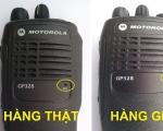 Hướng dẫn phân biệt máy bộ đàm giả Motorola GP328