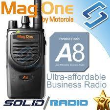 Bộ đàm cầm tay Motorola Mag One a8