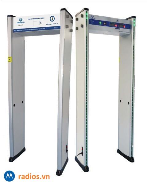 Cổng dò kim loại đo thân nhiệt  AT300DX